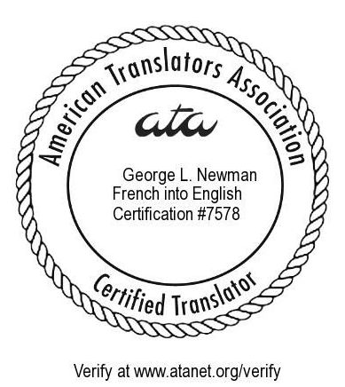 [ATA certification stamp.]